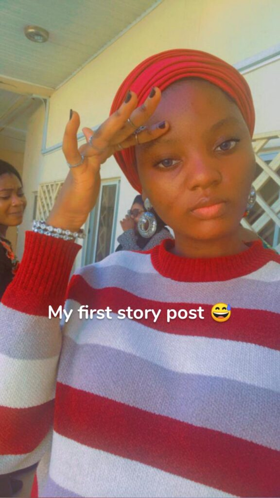 My first story post 😅